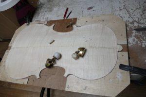 viool in aanbouw