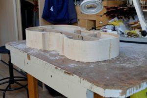 Complete zijkant cello met randversteviging